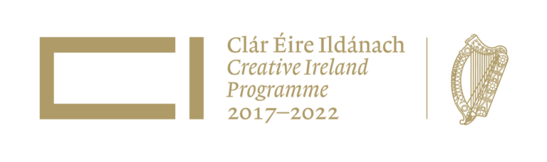 Logo for funding partner Creative Ireland